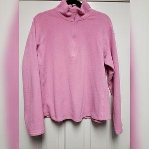 GAP fleece half zip pullover